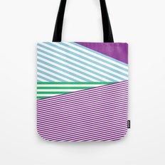 Grape Juice Lines Tote Bag