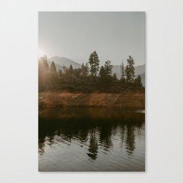Laks Shasta Reflection Canvas Print