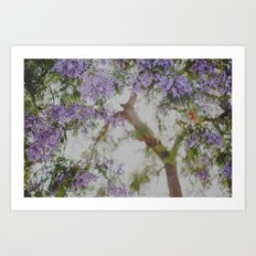 Purple Dream Art Print