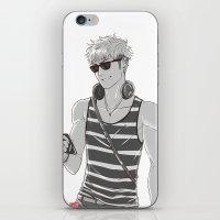 snk iPhone & iPod Skins featuring SNK: Modern Jean Kirschstein by Yuki119
