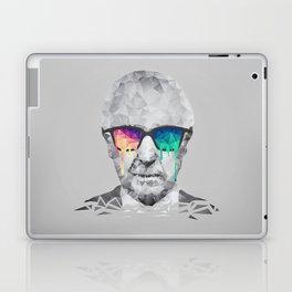Albert Hofmann - Psychedelic Polygon Low Poly Portrait Laptop & iPad Skin