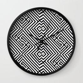 Right Turn Wall Clock
