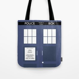Smaller On The Outside Tardis Tote Bag
