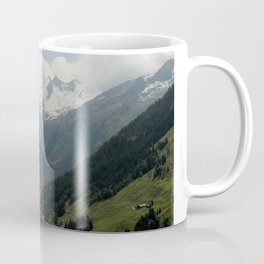 A Fjord in the Alps Coffee Mug