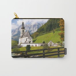 Germany Photography - Small Church In Ramsau Bei Berchtesgaden Carry-All Pouch