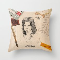 Nick Drake 2015 Throw Pillow