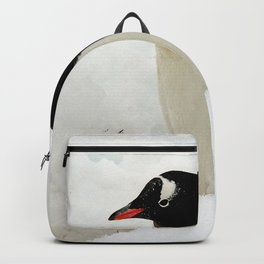 Gentoo Penguin in the Snow Backpack