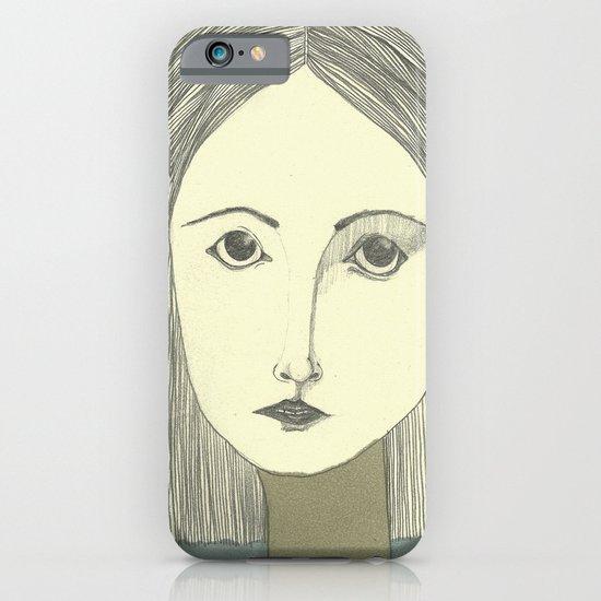 grey portrait iPhone & iPod Case