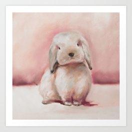 Lucky Bunny Art Print