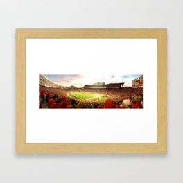 College Gameday Framed Art Print