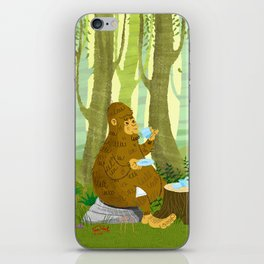 Bigfoot Busted iPhone Skin
