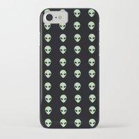 aliens iPhone & iPod Cases featuring Aliens  by gracekansai
