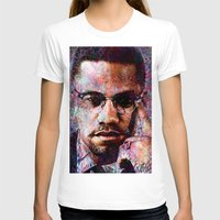 T-shirts featuring MALCOLM X by Vonis