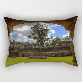 Natural Frame - Guatemala Rectangular Pillow