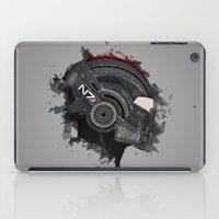 n7 iPad Cases featuring Beloved Helmet by mirodeniro