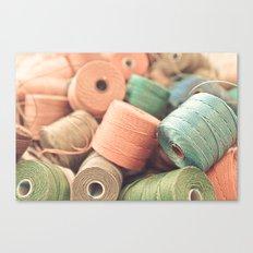 Thread Bowl. Canvas Print