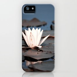 flower of the lake iPhone Case