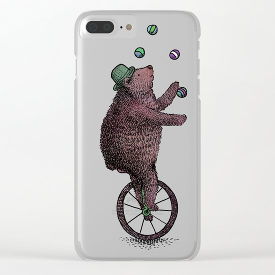 The Juggler Clear iPhone Case