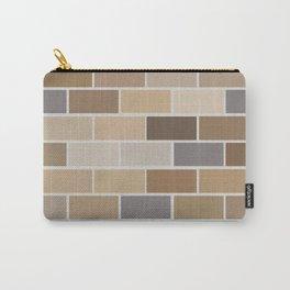 Kinda Brickish Carry-All Pouch