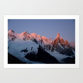 Cerro Torre at Sunrise Art Print