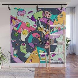 Swirls in Space Wall Mural
