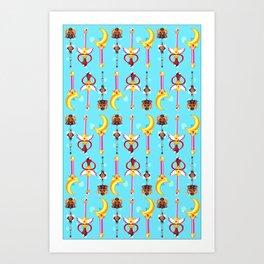 wand pattern  Art Print