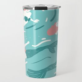 Mermaids Travel Mug