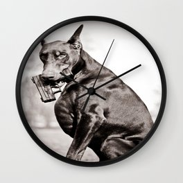 Don't Mess With Texas Wall Clock