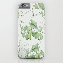 Floating Peas iPhone Case