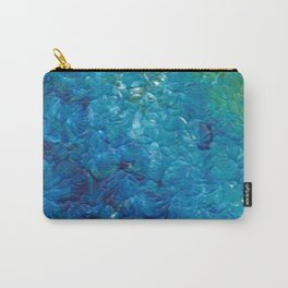 Ocean Waves, Abstract Acrylic Carry-All Pouch