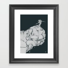 Come To Nothing Framed Art Print
