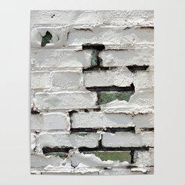 Peeling Brick Wall 2 Poster