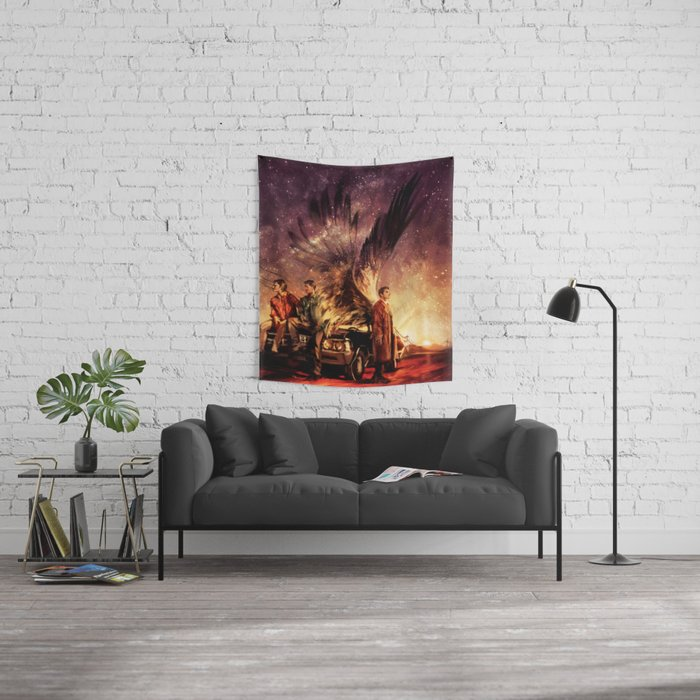 Carry On My Wayward Son Wall Tapestry
