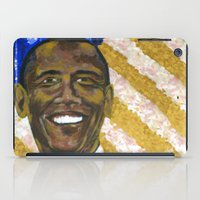 obama iPad Cases featuring Obama by Stan Kwong