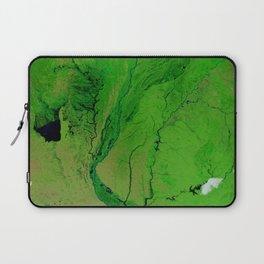 Floods in Argentina Laptop Sleeve
