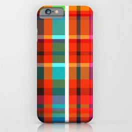 Madras Bright Check iPhone Case