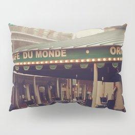 Foggy Cafe Du Monde Pillow Sham