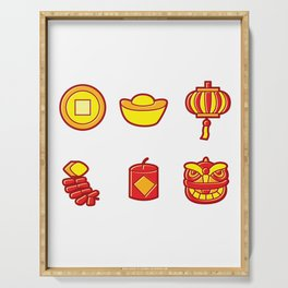 Happy Chinese New Year Serving Tray