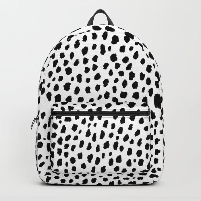 Dalmatian Spots (black/white) Rucksack