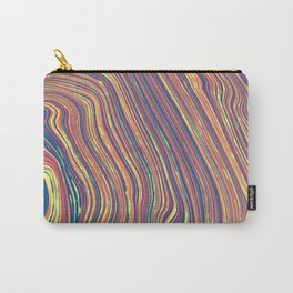 Marbled Geode Carry-All Pouch