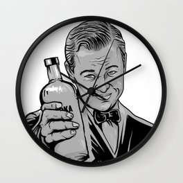 Save Water campaign Wall Clock
