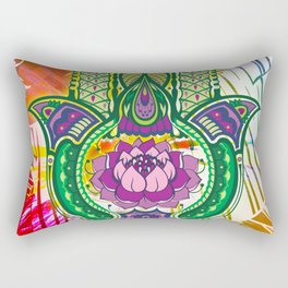 Protection from the Goddess Isis Rectangular Pillow