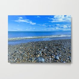 Newcastle Beach Metal Print