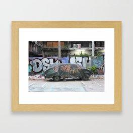 Free To A Good Home Framed Art Print