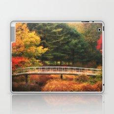 Bridge to Autumn Laptop & iPad Skin