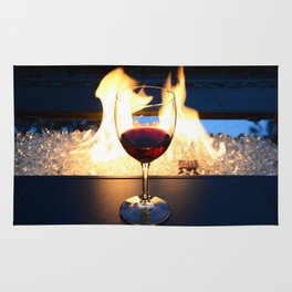 Fireside Wine II Rug