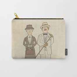 Marple and Poirot Carry-All Pouch