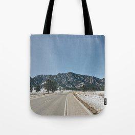 Flatirons Tote Bag