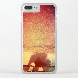 Lluvia Clear iPhone Case