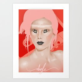 Cosette Art Print